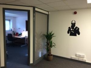 Doorway right office