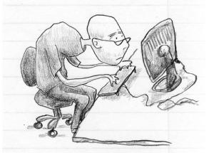 desk-jockey